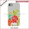 IMD tecnology,mirrior effect, case cover for iphone4 4g