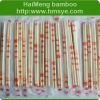 bamboo round chopsticks with whole opp packing