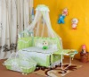 The baby bed with the cradle BC-437