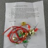 jingle bell necklace craft kit