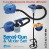 Spay Gun & Mixer Set