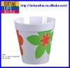 melamine 19.5 x 17.5cm H flower pot