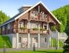 prefab wooden villa