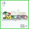 Milano fridge magnets letter for promotional souvenir gifts (KCIT-0061)
