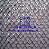 silver metallic women garment lining mesh fabric