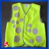hi vis reflective childrens clothing safety vest