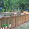 Garden Landscape Wood Composite Railing