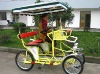 Four wheels bicycle