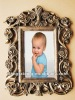 home decor antique style picture photo frames, resin photo frames wholesale