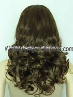 Fashionable & attractive human hair full lace wig
