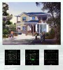 Prefab steel villa house