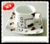 Hot sales porcelain coffee set
