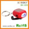 LED Solar Keychain Gift Item