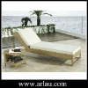 Outdoor Lounge Seaside Swimming pool Leisure Lounge Rattan Wicker Chaise Lounge