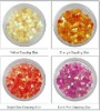 dazzling flake/star for nail art decoration with 12 mix colors