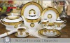 56pcs ceramic tableware set