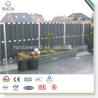 WPC Outdoor Garden Fence