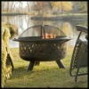Steel Criss-cross Weaves Fire Pit