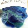 Felting merino wool for dry wet felting