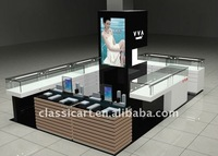 plywood cosmetics display shop design