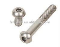 G2 hex socket button head titanium bolts