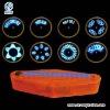 waterproof ABS 14 LED bicycle wheel light