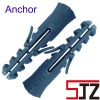 Nylon grey wall anchor plug or Plastic anchor