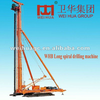 WHB 30 Long spiral rotary drilling rig