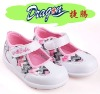 2012 kids patent pu dress casual celcro dress shoes
