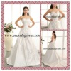 2013 Exclusive design taffeta sweetheart neckline wedding dress with embroidery