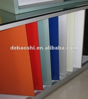 cheap building construction materials with PE or PVDFcoated