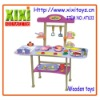 48Pcs Promotional Kids Educational Toys Wooden Kitchen Toy