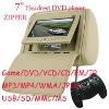 7 INCH CAR HEADREST DVD WITH USB/SD PLAYER MODEL NO.YG-718DV