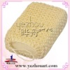 natural sisal body bath sponge/bath scrubber