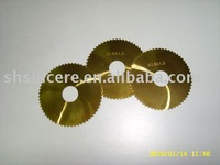 Tungsten carbide Slitting Saw blade with TIN coated