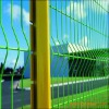 Triangular bending wire mesh fence