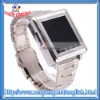 Bluetooth Touch Screen Watch Phone Silver