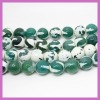 YG64 12mm round faceted agate beads