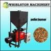automatic adjustable flame pellet burner