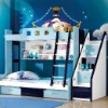 Kids trundle bed A29#