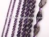 Natural amethyst beads