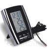 Indoor and Outdoor Thermometer with Clock