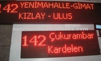smart led bus display