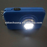 newly camera led keychain light