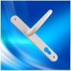 2/2 lever handle with aluminum material for door casements