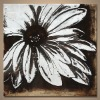 pop art flower oil painting for wall decorations
