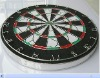 "15"" wooden dart board with 6pcs darts for sale"