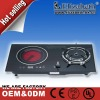 Cast iron stove gas cooker and induction electric hob EG-C402