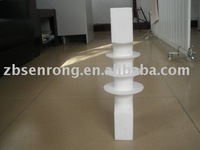 White virgin PTFE articles