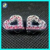 Wholesale 10mm DIY alphabet slide charms